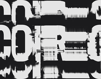 Control, explorations in glitched typography
