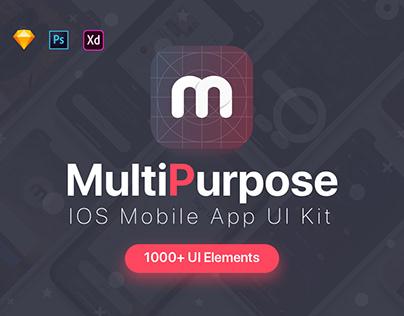 MultiPurpose iOS UI Kit
