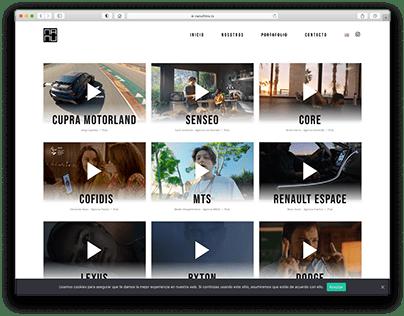 Web design. Wordpress