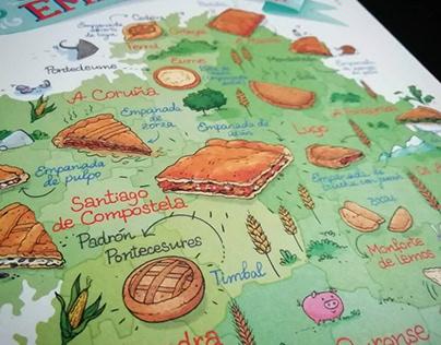 The Galician Empanada Map