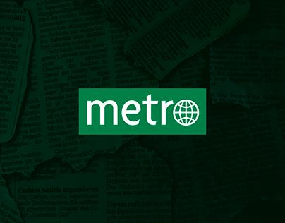 Anúncio | Jornal Metro
