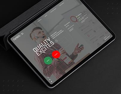 Quality Excites - UX&UI design