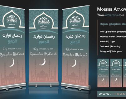 Moskeeen Roll-Up banners | Ramadan