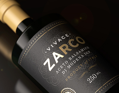 ZARCO Aceto Balsamico from Italy · Packaging
