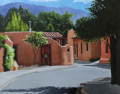 Alto Street, Santa Fe by Dorian Vincent Scotti