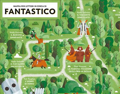 Oscar Junior Mondadori 10 year Special Edition - Maps