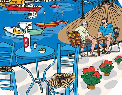 Cyprus tradition-Digital sketches