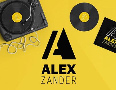 Logo - DJ ALEX Zander