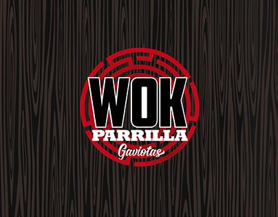 Corporate identity - Wok Parrilla