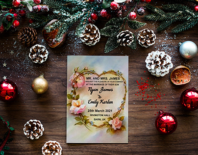 Creative Invitation Card Design