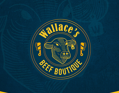 Identidade Visual | Wallace's Beef Boutique