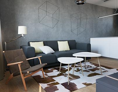 3D // interior design | Choceň