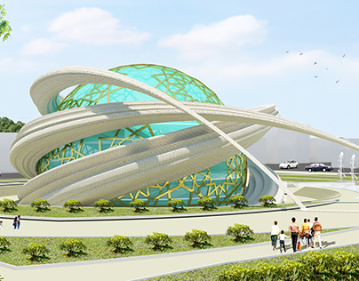 Islamic Inventions Center (Graduation Project)