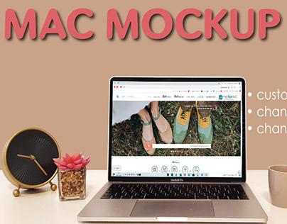 COOL MAC MOCKUP