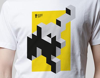 Айдентика и рекламные плакаты Музея видеоигр