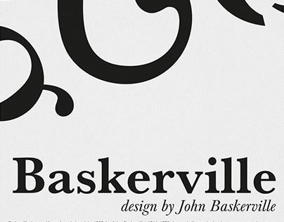 Font presentation - Baskerville