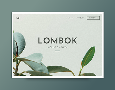 Lombok Website