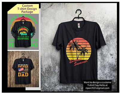 Custom T Shirt Design Bundle
