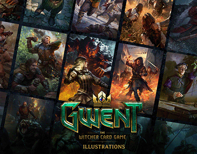 Grafit: GWENT Card game art - Unofficial release