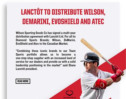 Wilson - Lanctôt partnership