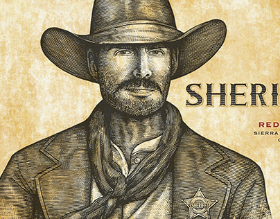 Sheriff Wine Illustrated by Steven Noble