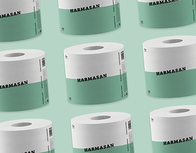 Packaging: toilet paper - Harmasan