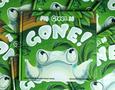 My Green Is Gone - picturebook