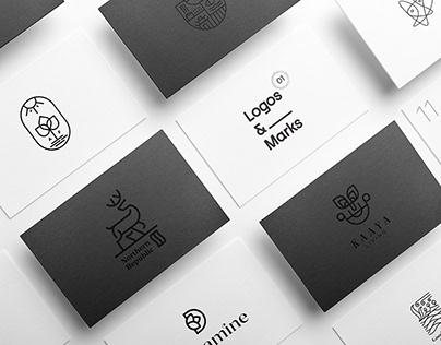 Logos & Marks 2020 - Vol. 01