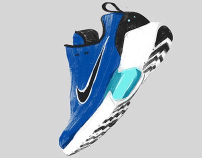 Nike Hyper Adapt Illustration