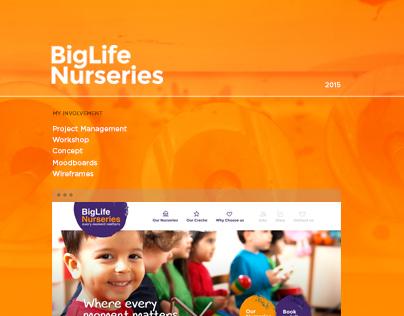 BigLife Nurseries - Web Design