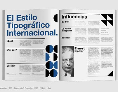 Reseña Estilo Tipográfico Internacional