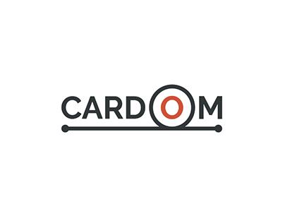 CARDOM. Logo design.