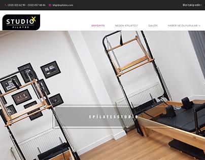 XPilates Studio Web Site