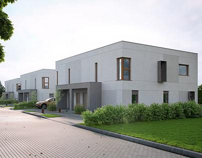 Semidetached housing, Poland [FULL CGI]