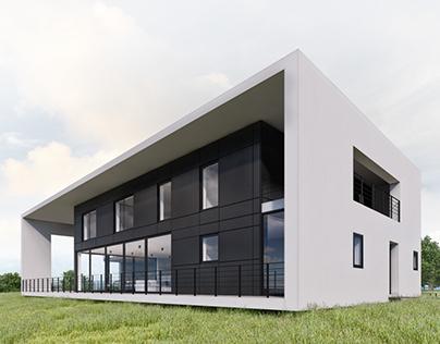 Exterior archmodels 3D-Visualization&Design