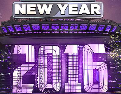 NEW YEAR 2016 Countdown & ident