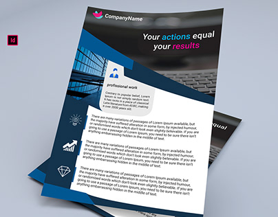 BUSINESS FLYER FREE DOWNLOAD INDESIGN