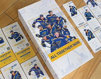 17-18 St. Louis Blues Season Campaign