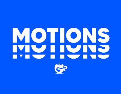 Motion Videos // Stories Animados + Animações