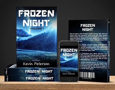 Kindle Book Cover design with mockup