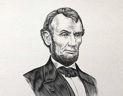 Portrait Illustration (Engraving style)