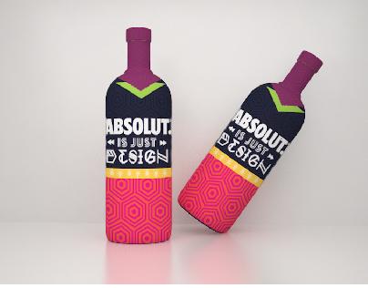 Absolut - Bottle Design