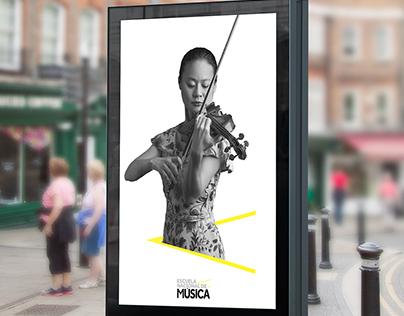 Escuela Nacional De Musica - Rebranding Proposal