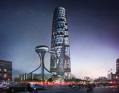 Mansoura Administrative Tower   OBSERVE ...