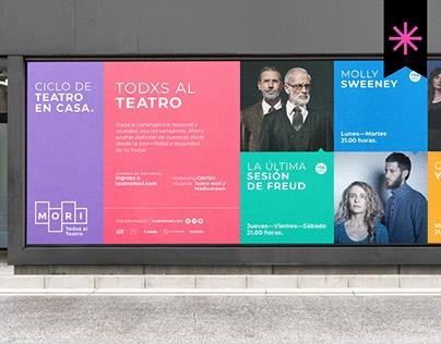 MORI® Todxs al Teatro   Branding
