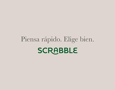 Piensa rápido. Elige bien. | Scrabble
