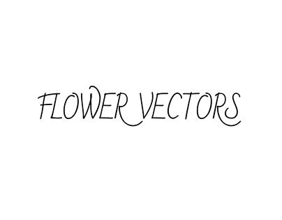 Assorted Vectors: Flowers