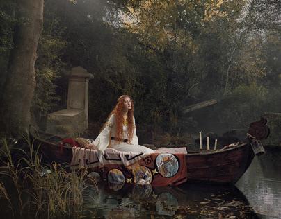 The Lady of Shalott with Julia Fullerton-Batten