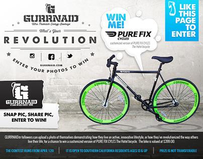 Pure Fix Bike - Facebook Giveaway