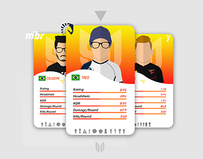 Cards Pro Players CSGO